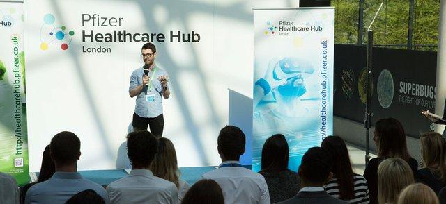 Pfizer Healthcare Hub