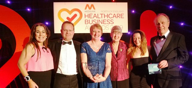 Team Femeda Ltd  winners of the Partnership with Academia Award.jpg