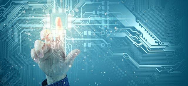 Digital Futures Concept