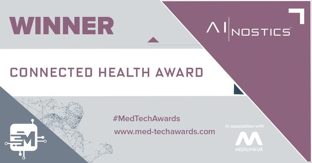 Winner - connected health award - Ainostics.png