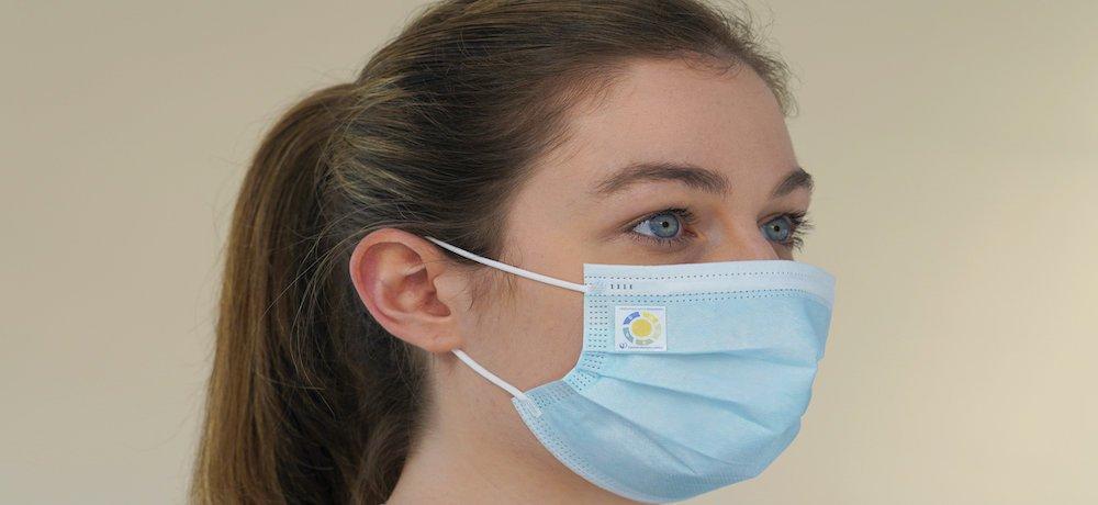 Une technologie développée pour alerter les gens de changer de masque facial