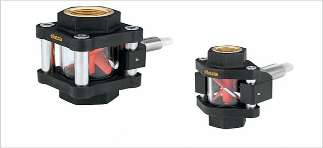 Elesa Visual Flow Indicators – now with flow meter sensor